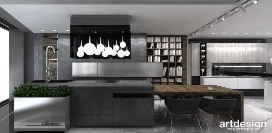 Projekt Kuchni Showroom Kitchen Design Ideas Surmar Zdjęcia